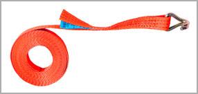 Стяжной ремень, рэтчет крюк J-образный, лента