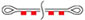 буксировочный ремень петля-петля