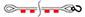 буксировочный ремень петля-крюк