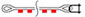 буксировочный трос петля-скоба